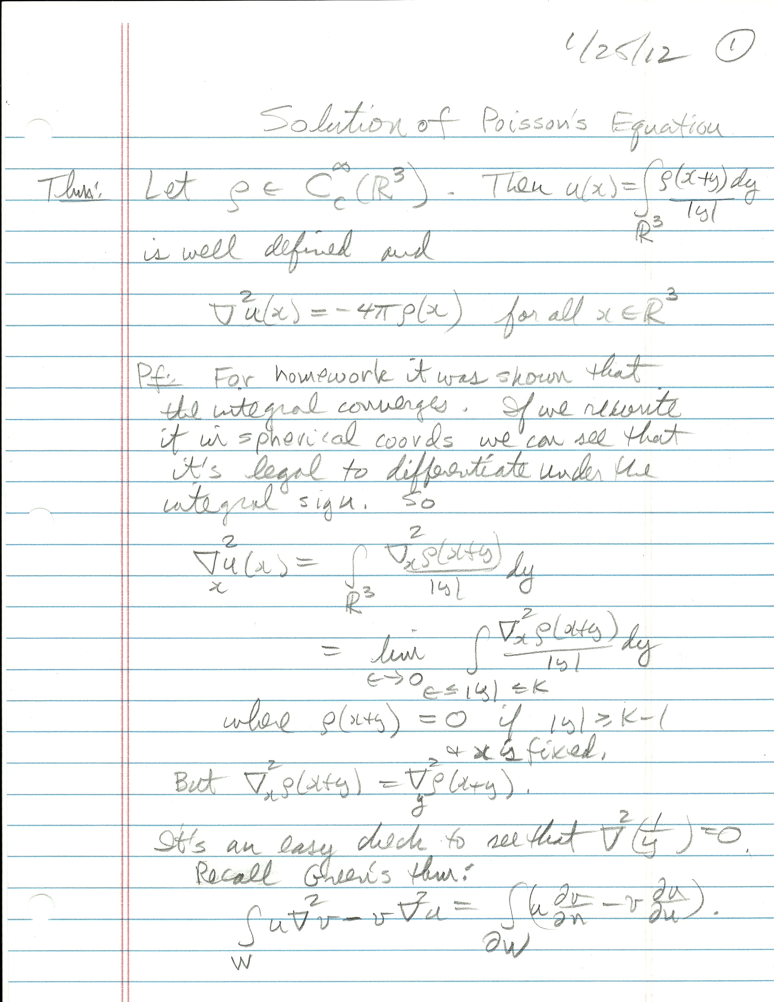 Answers to selected problems in multivariable calculus with linear.