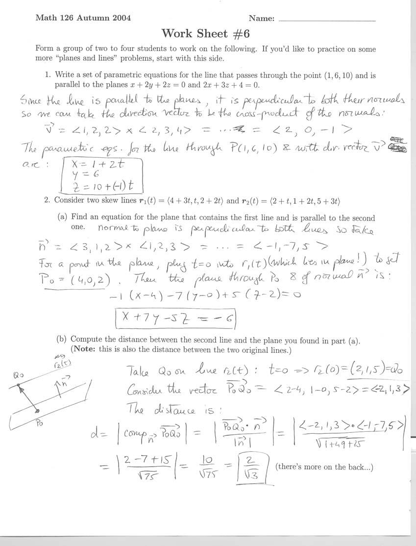 math 126 novik